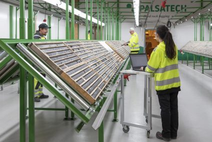 Palsatech's modern drill core logging tables – custom-designed for your needs