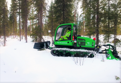 Palsatech's multi-purpose machine for an environmentally responsible and safe route preparation