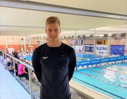 Palsatech mukana lahjakkaan uimarin Ronny Brännkärrin menestystarinassa